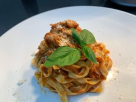 Nothing better than our homemade Tagliatelle with lamb ragù