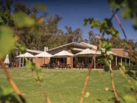 Exterior view of Morrison's Riverview Winery and Restaurant, Moama