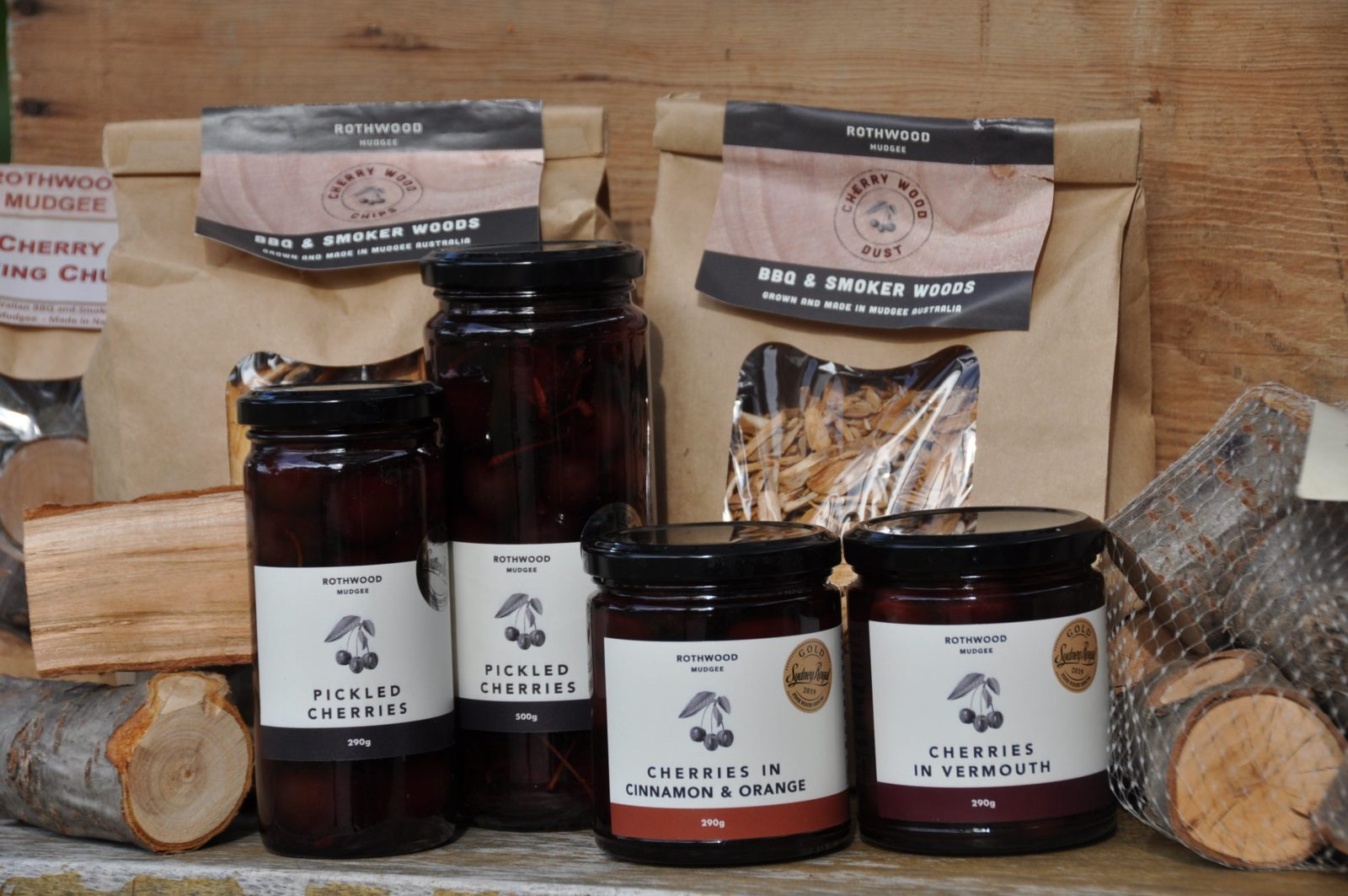 Products from the cherry orchard