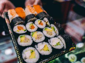 Sushi Bento Box picnic coffs coast