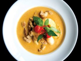 Thai curry dish from Thai Splendid Macarthur Square