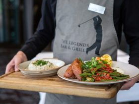 Why not stop by the Legends Grill for a spot of lunch overlooking the golf course?