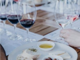 wine tasting and local produce