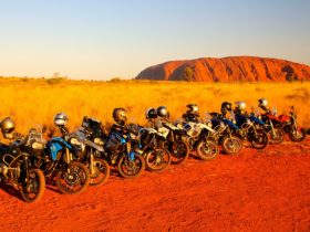 The Red Centre and Uluru by Motorcycle. BikeRoundOz Guided Tours.