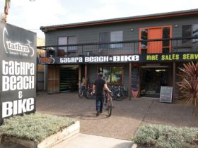 Exterior view of Tathra Beach and Bike shop