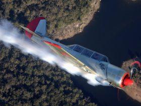 Our ACES Yak over Sydney's southern parklands