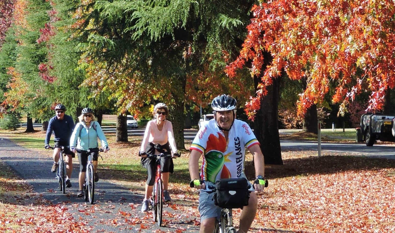 Autumn is a great time for cycling in N.N. Victoria