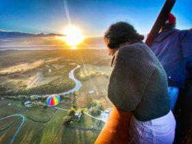 Byron Bay Ballooning flight