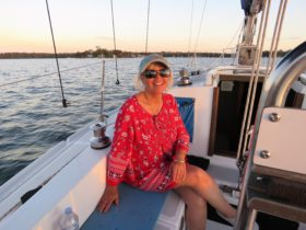 Happy client on lake macquarie