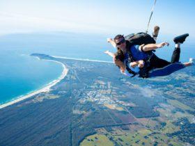 Skydive Byron Bay Freefall