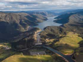 Talbingo Reservoir - Snowy Hydro power station