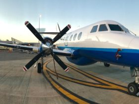 Jetstream 32 Newcastle Airport