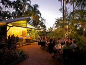 Alfresco Restaurant at Tumbling Waters Holiday Park