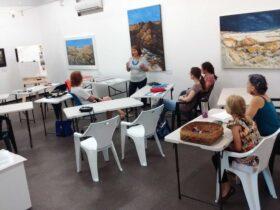 DVAA art gallery artist workshop