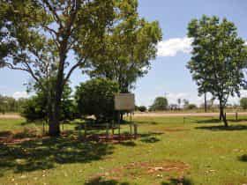 Wheel Shrinking Pit, Stuart Highway in background.