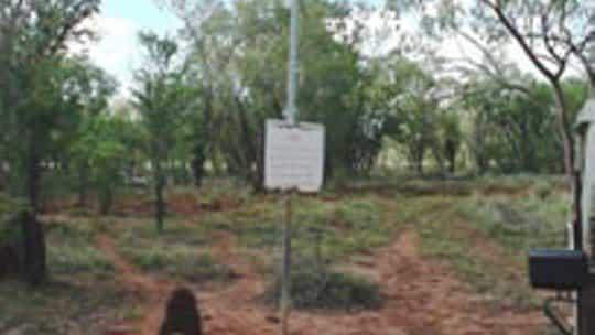 Frew Ponds Overland Telegraph Line Memorial Reserve, Tennant Creek Area, Northern Territory, Australia