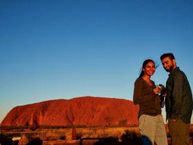 Sunset Viewing Area for Uluru