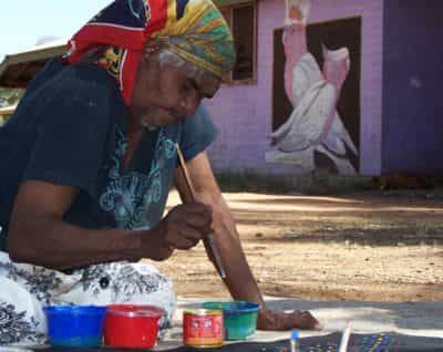 Tangentyere Artists, Alice Springs Area, Northern Territory, Australia