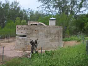 Singapore Pattern observation posts following conservation works in 2005.