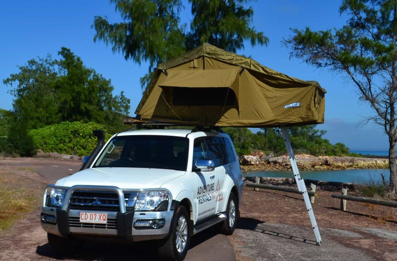 4WD Camper, includes camping equipment and Unlimited KM.