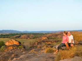 Panoramic views from Ubirr Rock across Kakadu National Park