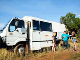 Kakadu Tour Guide and Vehicle