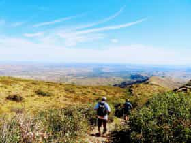 Larapinta Trail 5-Day Pack-Free Guided Walk from Lifes An Adventure