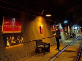 The tunnels were secret until 1992