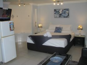 Apartment, Fully self contained with full kitchen facilities, separate bathroom, Spa, King Bed
