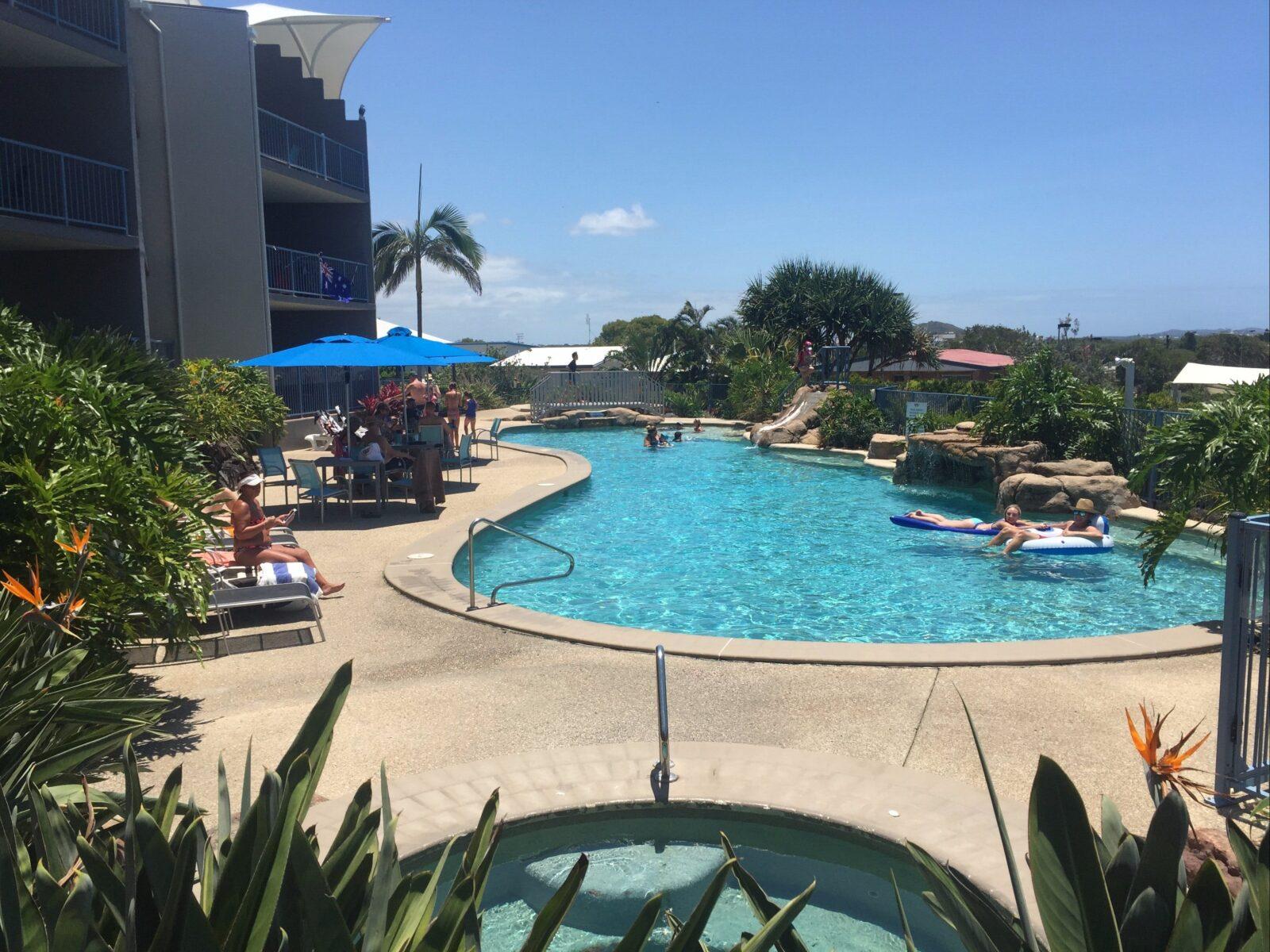 25 metre heated Resort pool