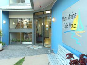 Manly Marina Cove Motel entrance