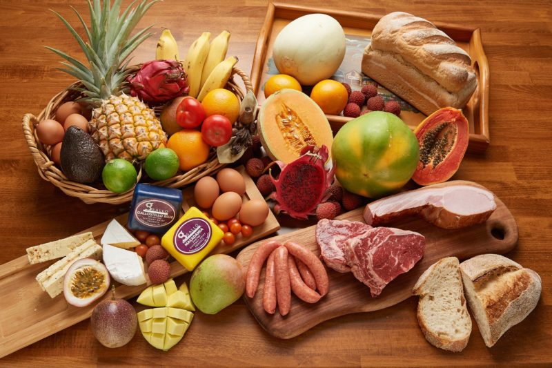 """alt=""""Some of the local produce we source for breakfast at Sharlynn"""""""