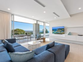 Spacious living areas opening up to generous balconies
