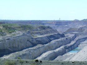 Dawson Mine Viewing Platform, Moura