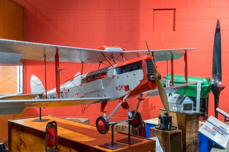 Quarter scale model of the Victory, the first aerial ambulance, that took flight 17th May 1928