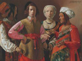 Georges de La Tour / 'The Fortune-Teller' c.1630s / Collection: The Metropolitan Museum of Art