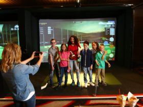 Topgolf Swing Suite at The Club at Parkwood Village
