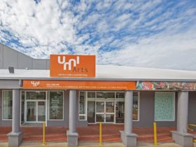 Front view of UMI Arts gallery Cairns