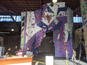 The The Arch - lead and top rope climbing