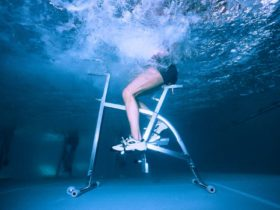 Water Cycling Adventure Sport