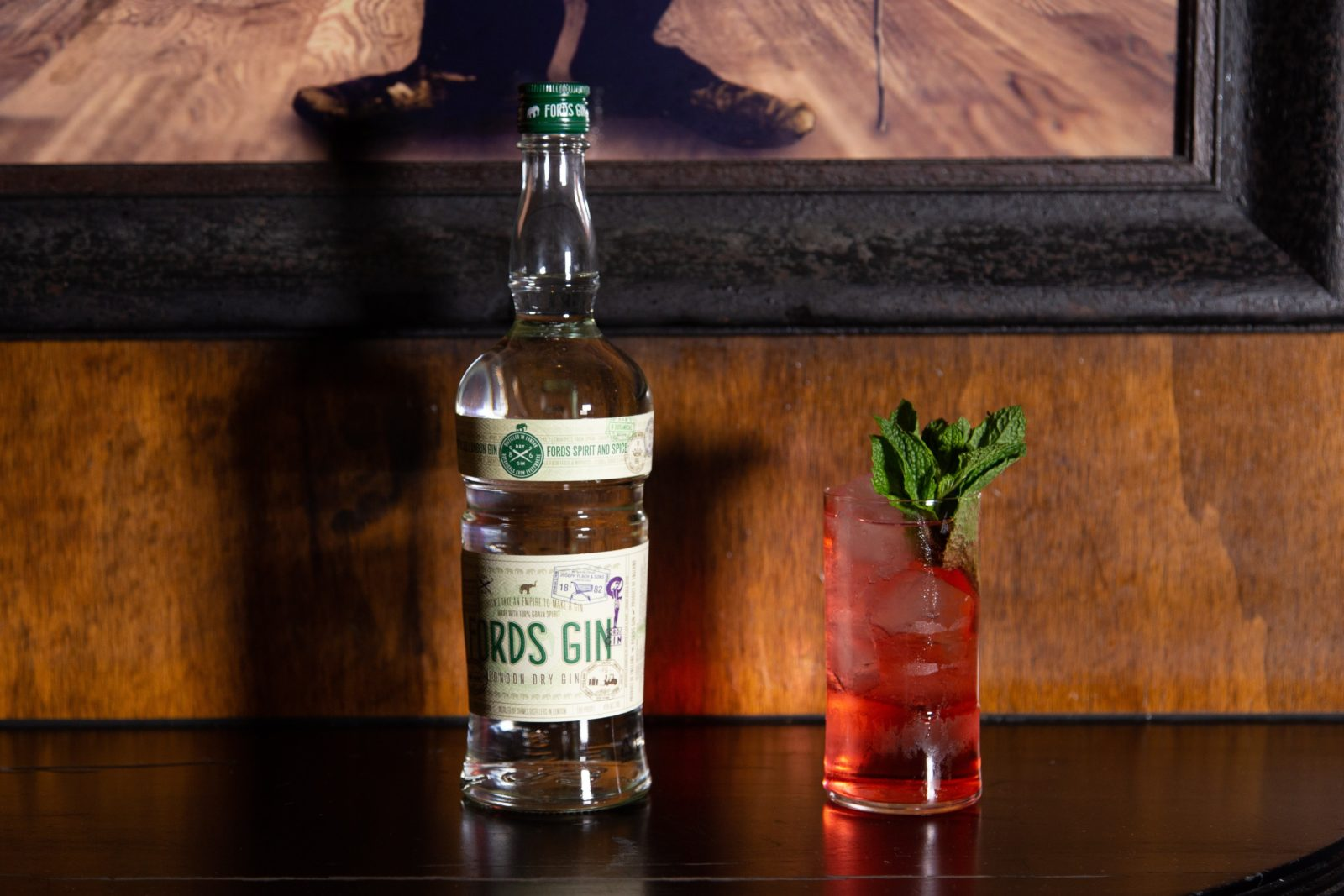 Lemon-infused Ford's Gin, refreshing watermelon juice, and topped with Fever-Tree MediterraneanTonic