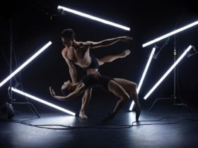 Queensland Ballet Artists David Power and Tonia Looker. Photography Juli Balla