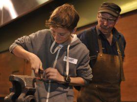 Teen Blacksmithing