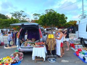 Carrara Markets Car Boot Sale every Sunday morning