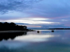 Sunrise at Coochiemudlo Island