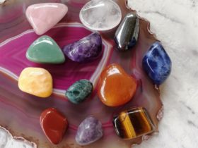 Learn all about 12 main Chakra Crystals