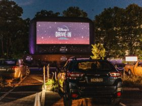 Disney+ Drive-In Screen