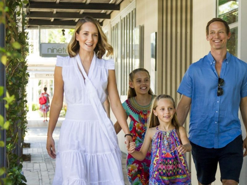 Entertainment and family fun at Sanctuary Cove
