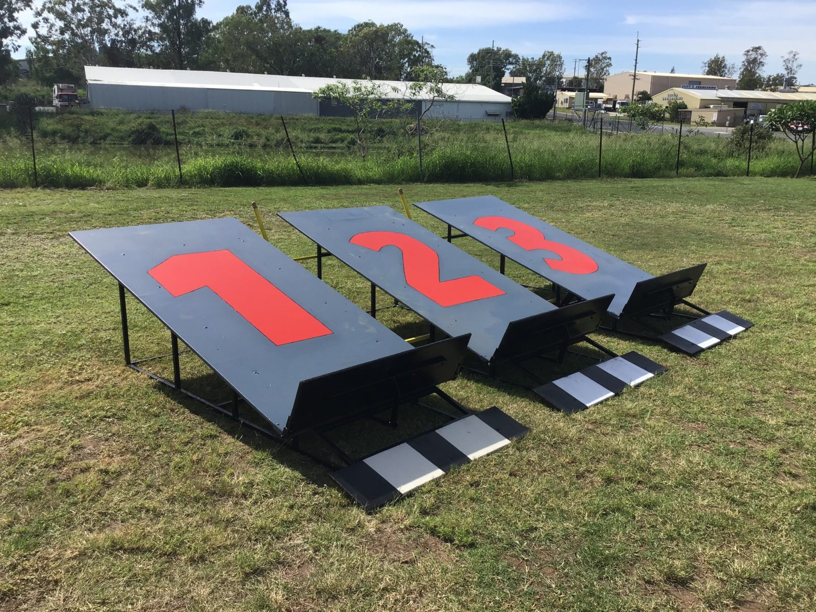 donated by Lockyer valley steel