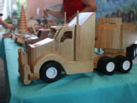 Local hand made timber craft
